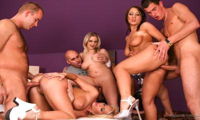 Gruppen porno